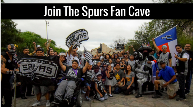 Join The Spurs Fan Cave.