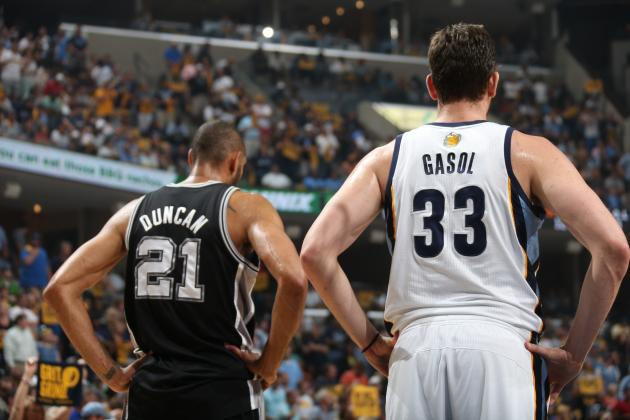 R.C. Buford is looking to pass Timmy's torch to Marc Gasol this summer.