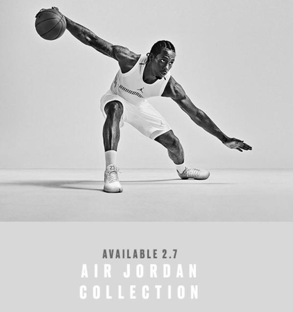 Kawhi Leonard New Air Jordan Poster.