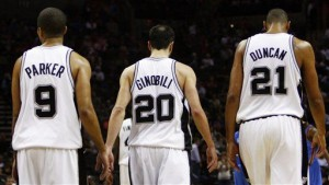 SA Spurs Big Three.