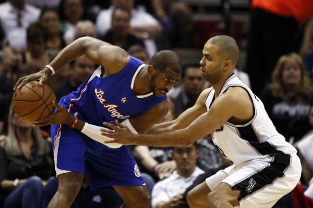 Spurs Vs Clippers series tied at 2-2.