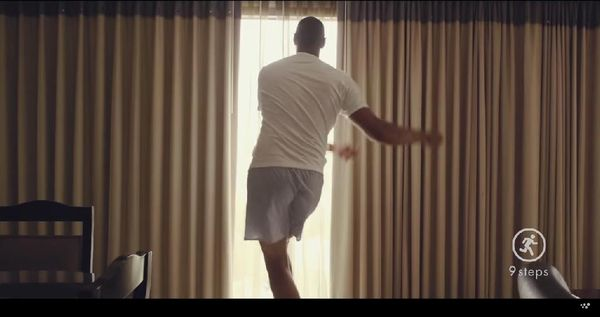 Boris Diaw Withings Commercial.