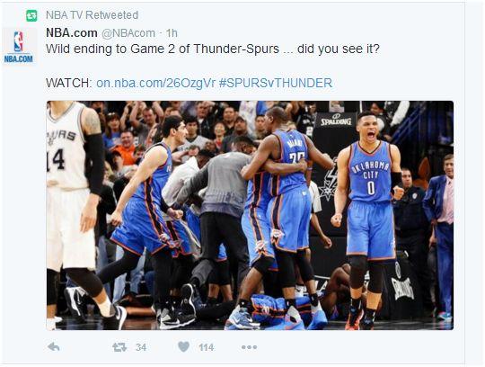 NBA TV Twitter