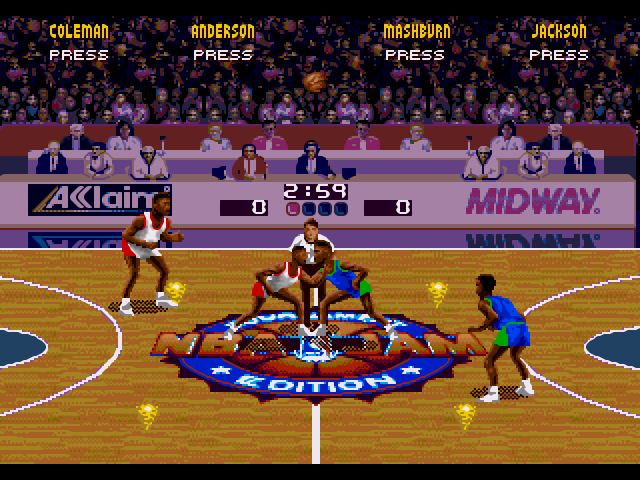 NBA Jam Screen Shot