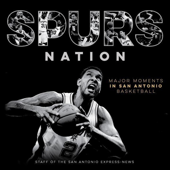 New Book Entitled Spurs Nation Covers 30 Years Of Spurs History.